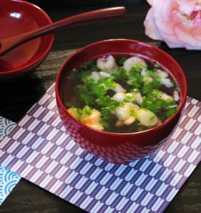 Бърза японска супа