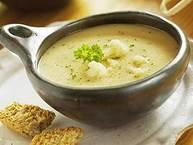 Крем супа от картофи с прясно мляко