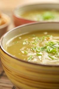 Супа от тиква и праз лук
