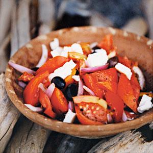 Гръцка салата с домати