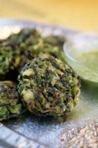 Зелени зеленчукови кюфтета