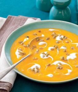 Крем супа от тиква и круши