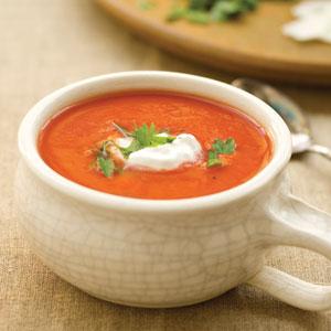 Индийска доматена супа
