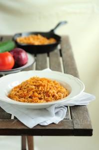 Гръцки доматен пилаф
