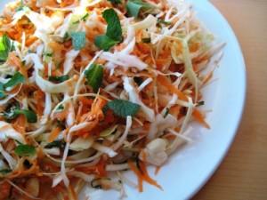 Азиатска салата с моркови