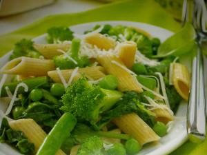 Пене със зеленчуци и пармезан
