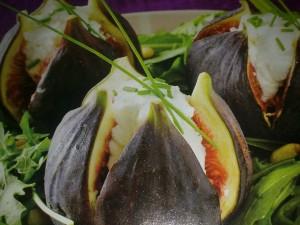 Пълнени смокини с рукола
