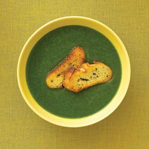 Вкусна крем супа от спанак