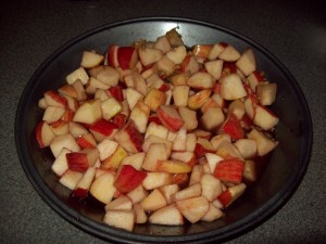 Вкусни сладки ябълки